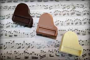 Grando Cioccolato Chocolate Piano