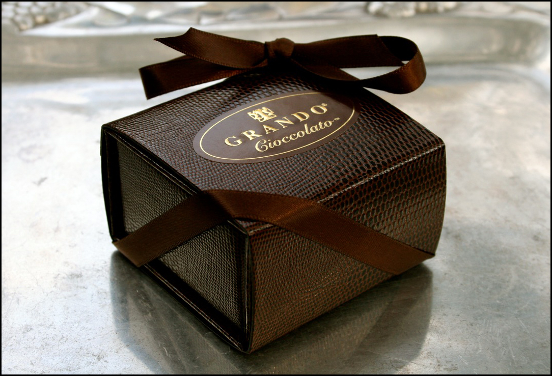 Grando Cioccolato Signature Jewelry Chocolate Gift Box Luxury
